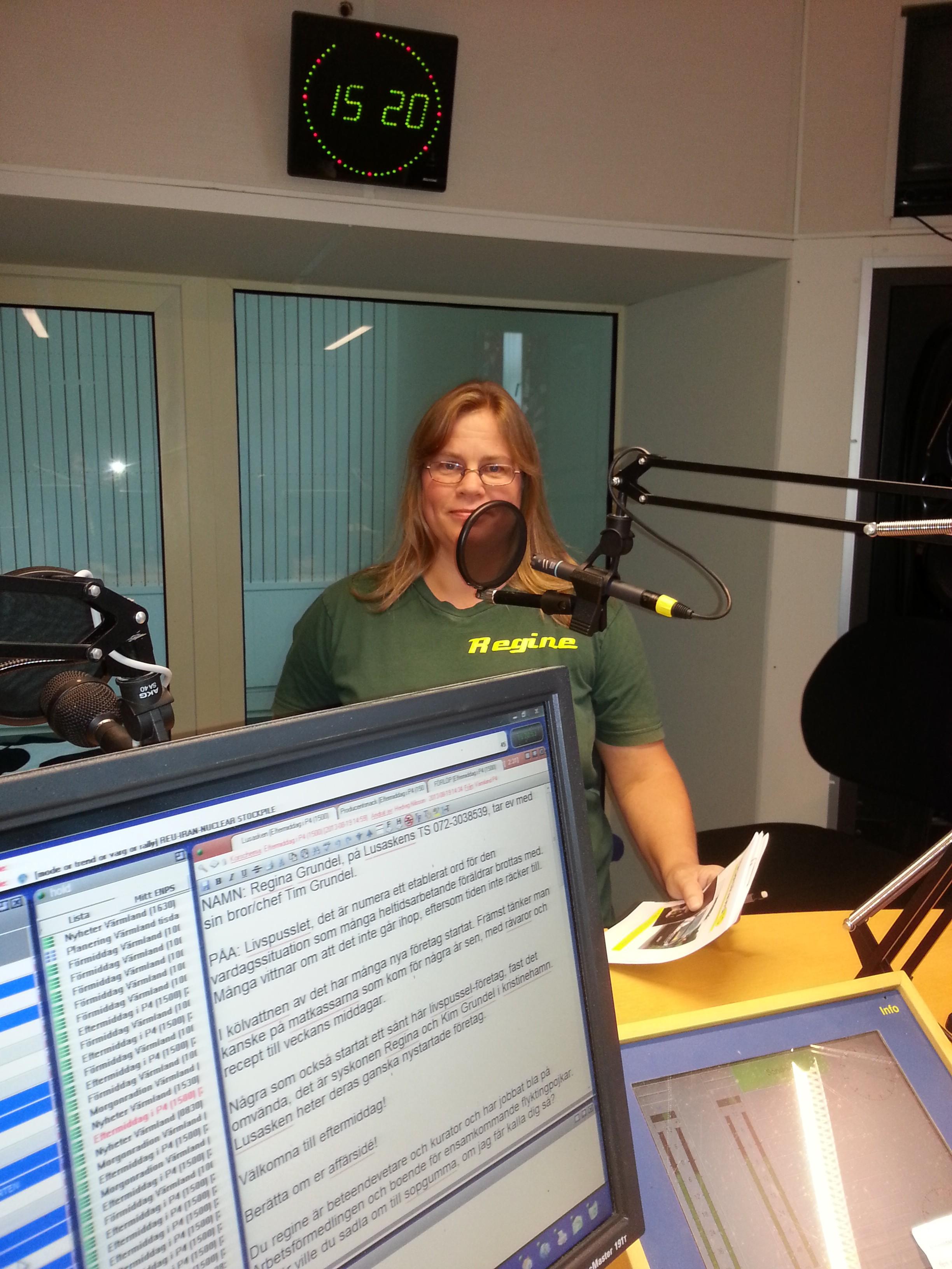Regine i radio